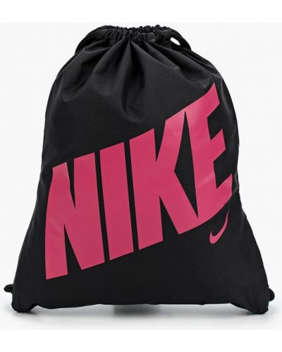 Текстильный черный рюкзак Nike