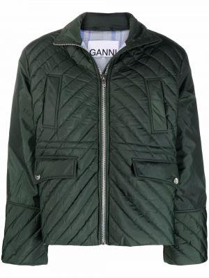 Стеганая куртка - зеленая Ganni