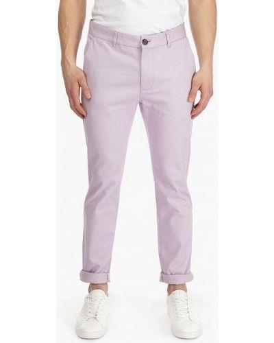 Фиолетовые брюки повседневные Burton Menswear London