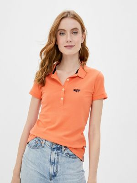 Оранжевое поло Galvanni