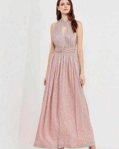 Платье розовое осеннее Ruxara