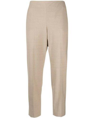 Beżowe spodnie Theory