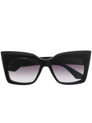 Муслиновые черные солнцезащитные очки квадратные Dita Eyewear