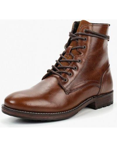 Ботинки осенние кожаные высокие Burton Menswear London
