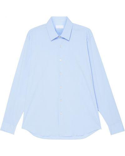 Рубашка с длинным рукавом хлопковая на пуговицах Prada