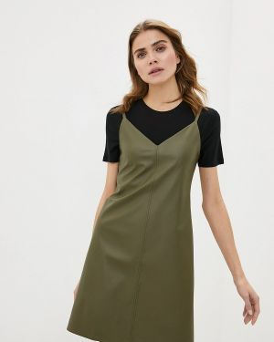 Платье вязаное осеннее Knitman