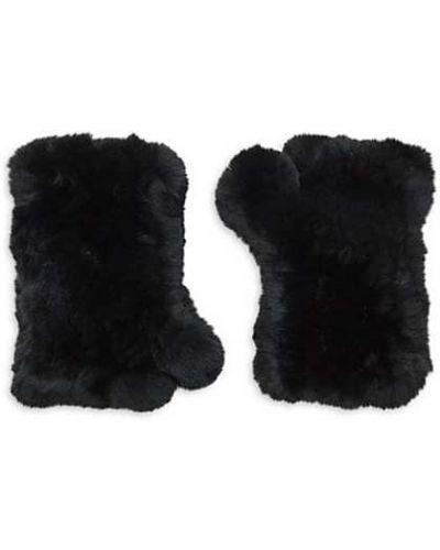 Czarne rękawiczki bez palców Karin Charles