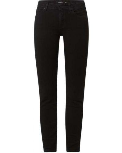 Mom jeans bawełniane - czarne Marc O'polo Denim