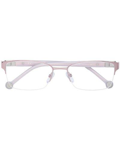Очки металлические прямоугольные Carolina Herrera