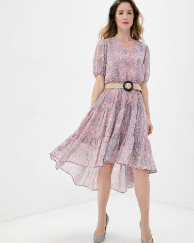 Прямое розовое платье Top Secret