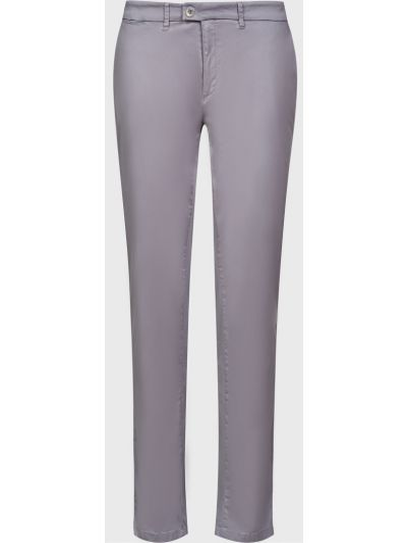 Хлопковые брюки - серые Brax