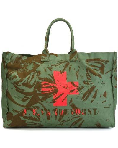 Пляжная сумка круглая с баской A.f.vandevorst