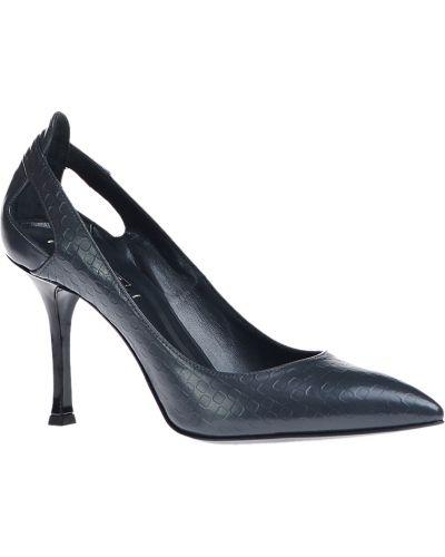 Туфли на каблуке кожаные осенние Le Silla