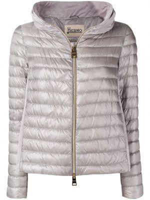 Куртка с капюшоном на молнии с карманами Herno