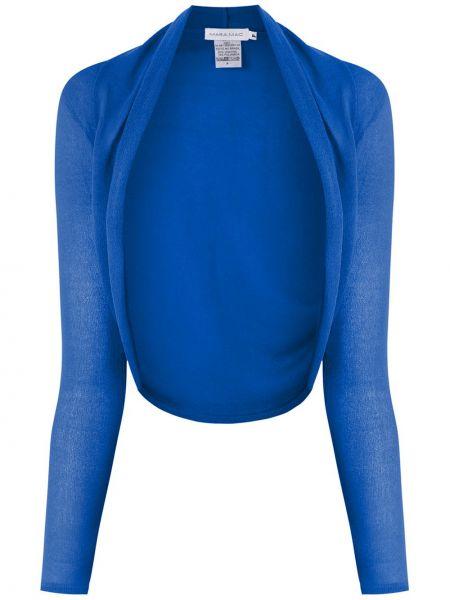 Кардиган длинный - синий Mara Mac