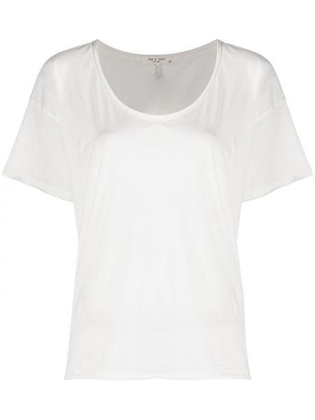Хлопковая футболка - белая Rag & Bone