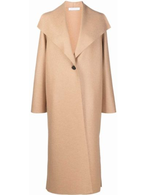 Длинное пальто - коричневое Harris Wharf London