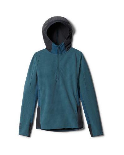 Синяя куртка на молнии с капюшоном Mountain Hardwear
