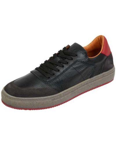 Czarne buty sportowe skorzane Cinque