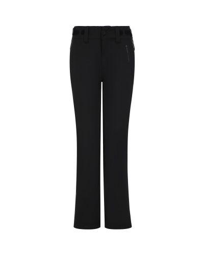 Прямые черные утепленные спортивные брюки Protest