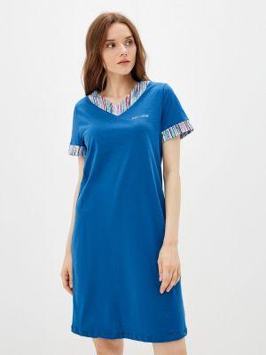Синее платье летнее Tenerezza