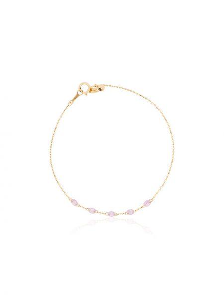 Różowa złota bransoletka ze złota szafir Persée