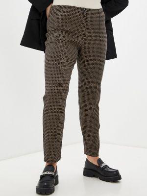 Зауженные брюки - коричневые Gerry Weber