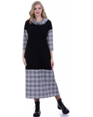 Платье в стиле бохо в клетку Lautus