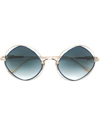 Солнцезащитные очки с градиентом титановые Chrome Hearts