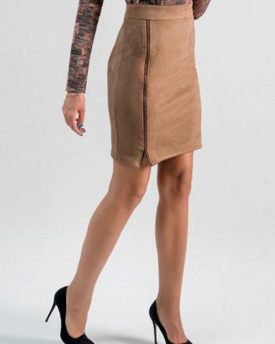 Кожаная юбка Coclo