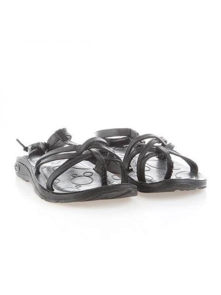 Sandały skórzane - czarne Chaco