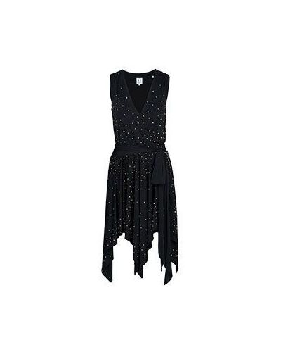 Вечернее платье миди Halston Heritage