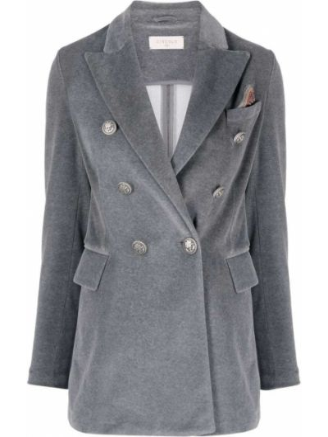 Серый пиджак на пуговицах Circolo 1901