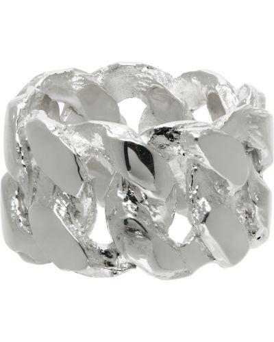 Pierścionek srebrny perły Pearls Before Swine