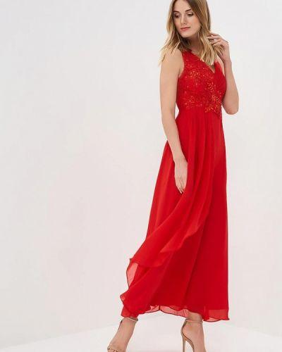 Вечернее платье - красное Omonsim