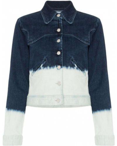 Синяя джинсовая куртка на пуговицах Miaou