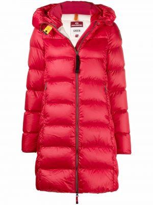 Красное пальто классическое Parajumpers