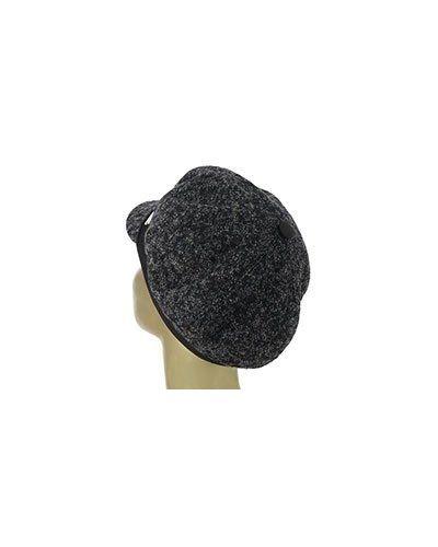 Коричневая кепка шерстяная Luca Della Lama