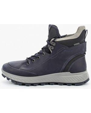 Ботинки синие Ecco