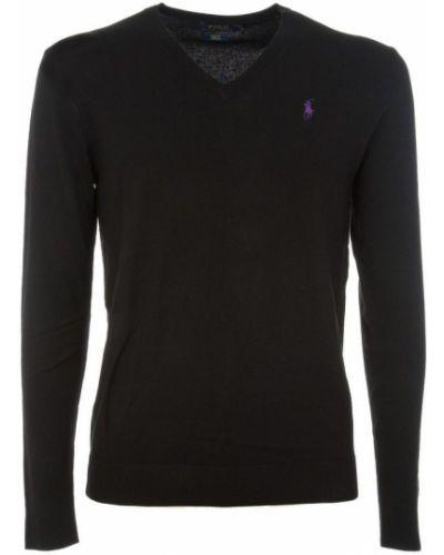 Sweter wełniany - czarny Polo Ralph Lauren