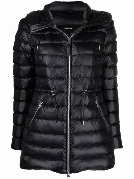 Черное пальто с карманами Mackage