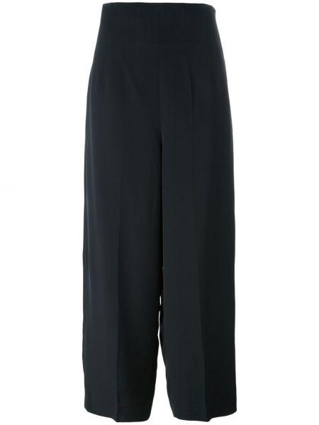 Черные свободные брюки винтажные со складками Christian Lacroix Pre-owned