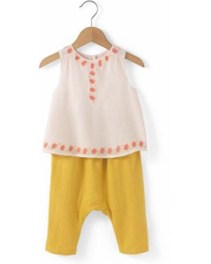 Блуза с принтом с рисунком La Redoute Collections