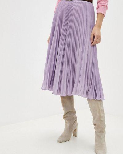 Фиолетовая юбка свободного кроя Polo Ralph Lauren