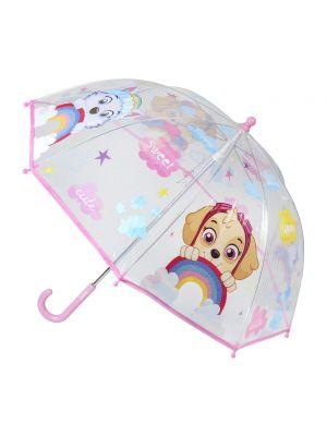 Parasol materiałowy - różowy Paw Patrol