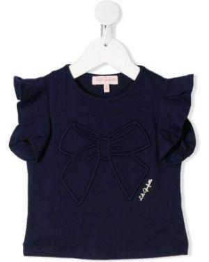Синяя футболка Lili Gaufrette