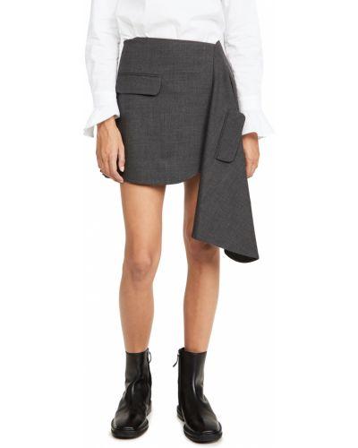 Spódnica asymetryczna wełniana Monse