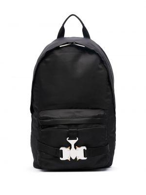 Czarny plecak klamry srebrny 1017 Alyx 9sm