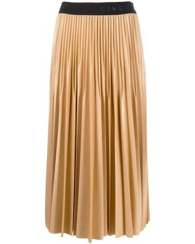 Beżowa spódnica Givenchy