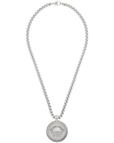 Srebro wisiorka ze srebra metal Versace